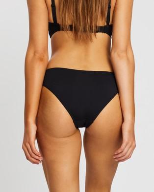 Sea Level Australia Regular Bikini Pants - Bikini Bottoms (Black)