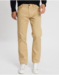 Kent and Curwen - High-Rise Long Pants