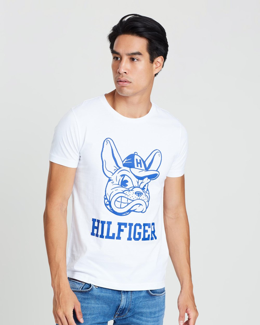 80ff1369 Dog Logo Tee by Tommy Hilfiger Online | THE ICONIC | Australia