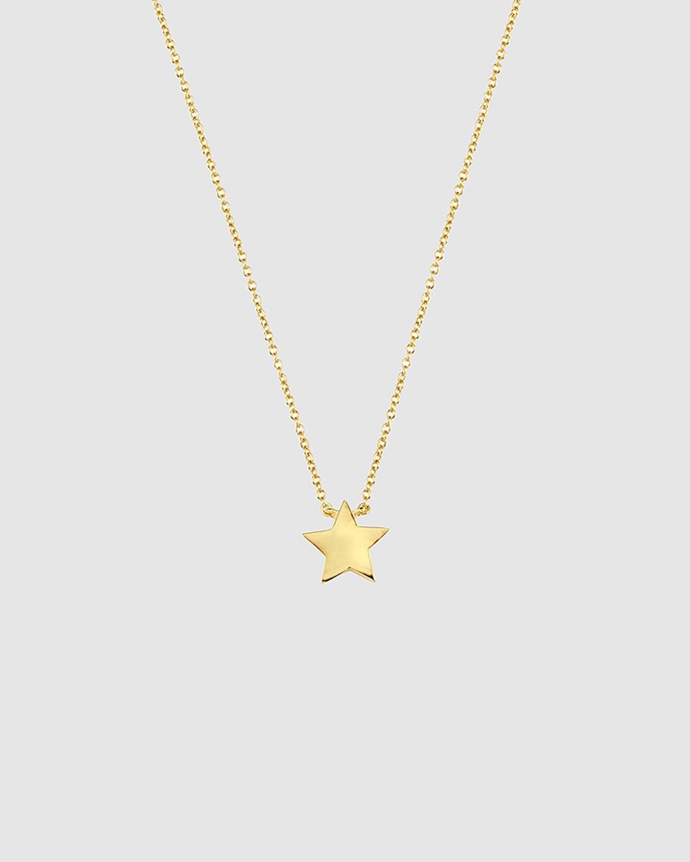 Secret Sisterhood Sister Star Necklace Jewellery Gold