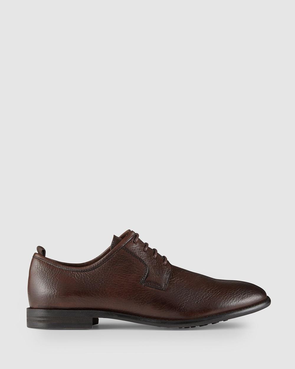 Aquila Hudley Lace Up Shoes Dress Light Brown