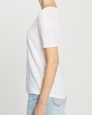 American Vintage Round Neck T Shirt - T-Shirts & Singlets (White)