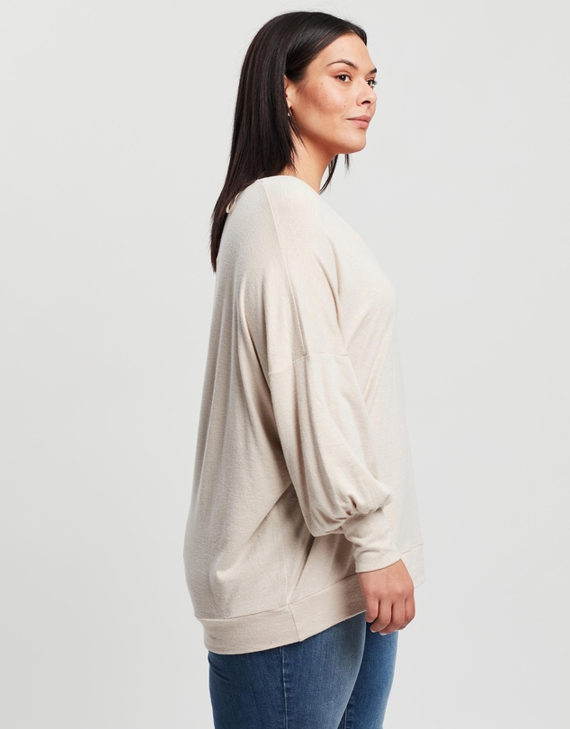 Women Angie Relaxed Sweat Top