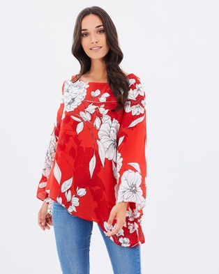 Dorothy Perkins – Floral Tunic Multi