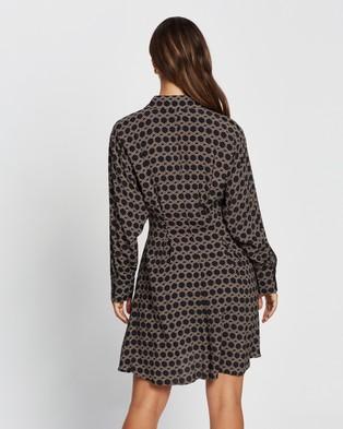 M.N.G Cosmo Dress - Printed Dresses (Black)
