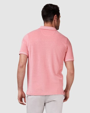 Blazer Liam Oxford Polo - Shirts & Polos (Coral)
