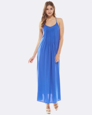 Deshabille – Petitinget Dress Royal Blue – Dresses (Royal Blue)