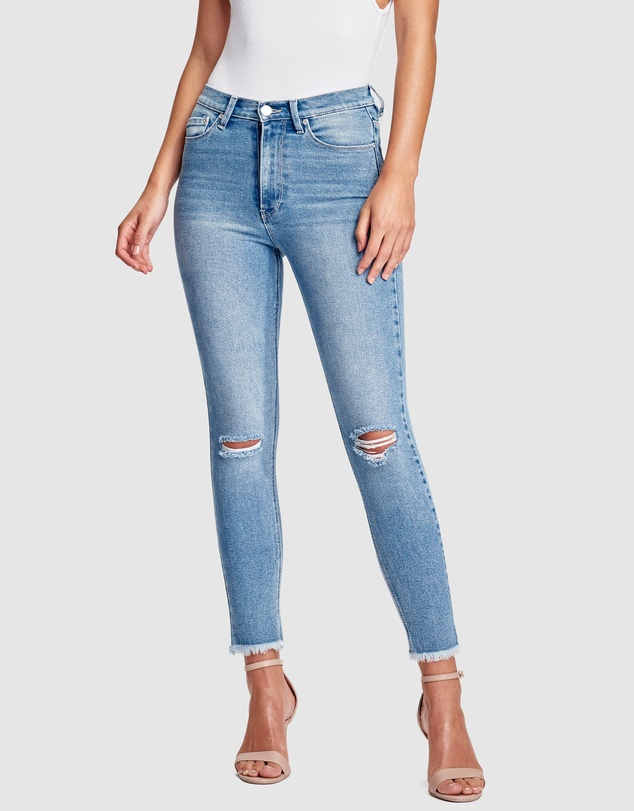 RES Denim - Harrys Hi Skinny Crop Jeans