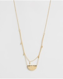 By Charlotte - ICONIC EXCLUSIVE Lotus Harmony Necklace