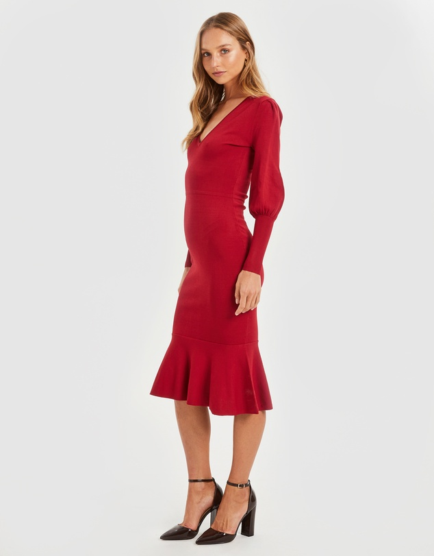 Cooper St - Alexandra Fitted Knit Dress
