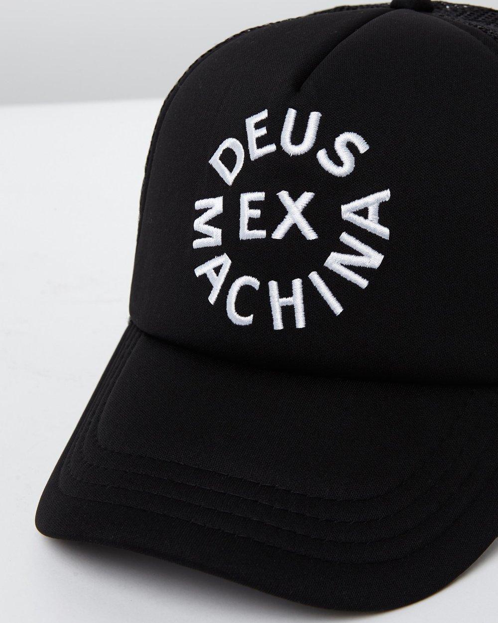 b008a470d9d Circle Logo Trucker Cap by Deus Ex Machina Online