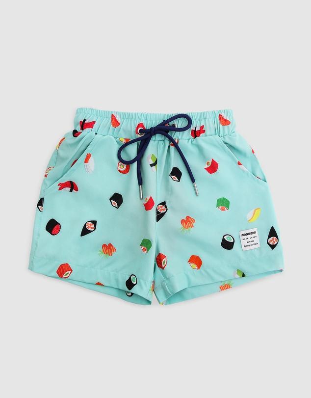 Men Sushi Swim Shorts - Kids