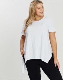 Advocado Plus - Oxford Draped Tee