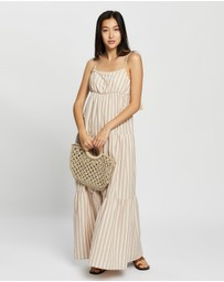 MINKPINK - Sway Tiered Maxi Dress