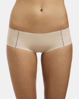 Love and Lustre Flats Hipster Brief 2 Pack - Hipster Briefs (Nude)