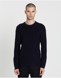 Vince - Ribbed Crew Jumper