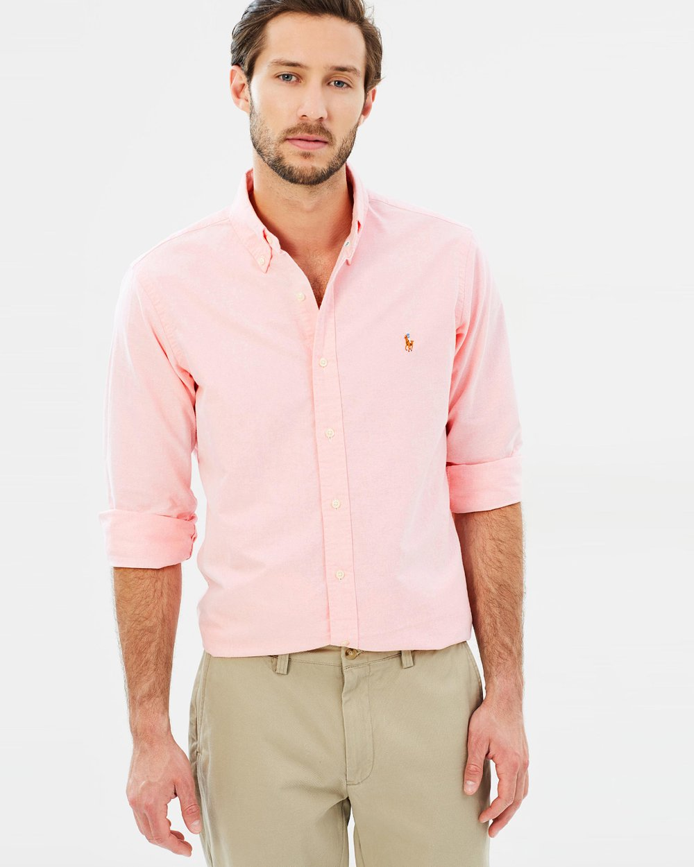 984ba3b6 Core Fit Oxford Shirt by Polo Ralph Lauren Online | THE ICONIC | Australia