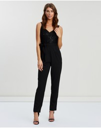 Dorothy Perkins - Glitter Top Strappy Jumpsuit