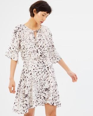 SABA – Cheetah Dress multi