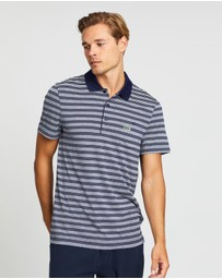 Lacoste - Golf Striped Jersey Polo