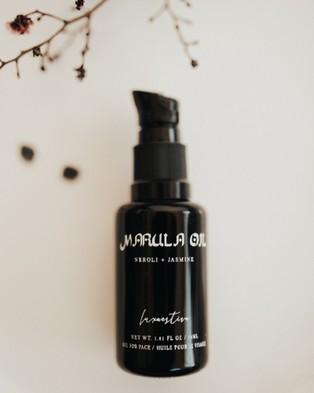 Lux Aestiva Marula Oil with Neroli and Jasmine Sambac - Face Oils (Black)