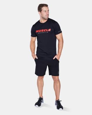 Muscle Republic Sydney Tee - T-Shirts & Singlets (Black)