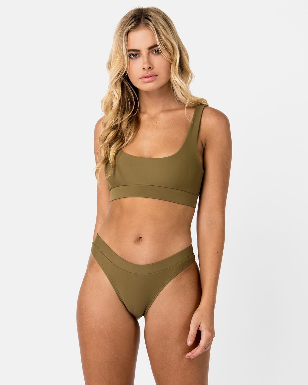 Cali Rae Ecuador Bikini Bottoms Bikini Bottoms Green Ecuador Bikini Bottoms