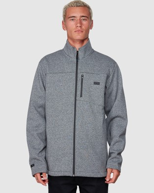 Billabong Adiv Mainland Zip Thru - Coats & Jackets (TECH MARLE)