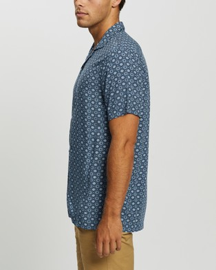 Abercrombie & Fitch SS Resort Shirt - Casual shirts (Blue)