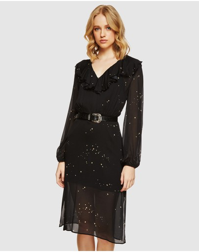 Oxford Darmony Stargazer Dress Black/gold
