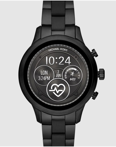 Michael Kors - Michael Kors Black Runway Display Smartwatch