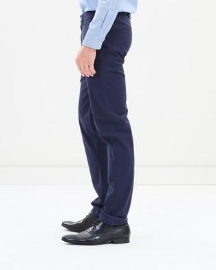 Ben Sherman Slim Stretch Chinos - Pants (Navy)