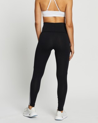 adidas Performance Sportswear Colourblock Tights - Pants (Black)