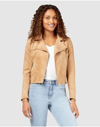 Jeanswest - Luella Mocksuede Jacket