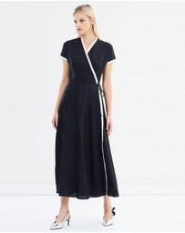 Weekend Max Mara - Vanezza Linen Wrap Dress