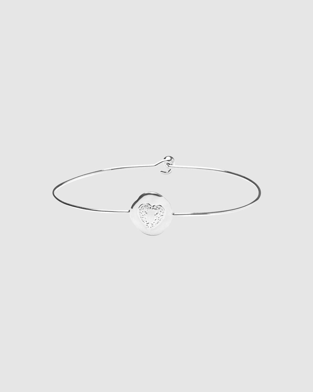 Dear Addison Atlantis Bangle Jewellery Silver