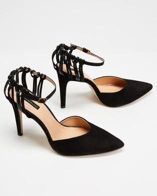 Nina Armando Minny - Heels (Black Suede)