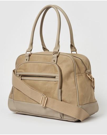Urban Originals Overnight Bag Taupe