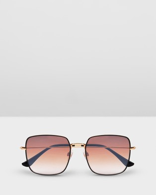 Carolina Lemke Berlin CL6738 SG 02 - Square (gradient brown)