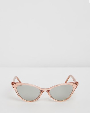 RIXX Eyewear Scarlett - Sunglasses (Pink Crystal Polarised)