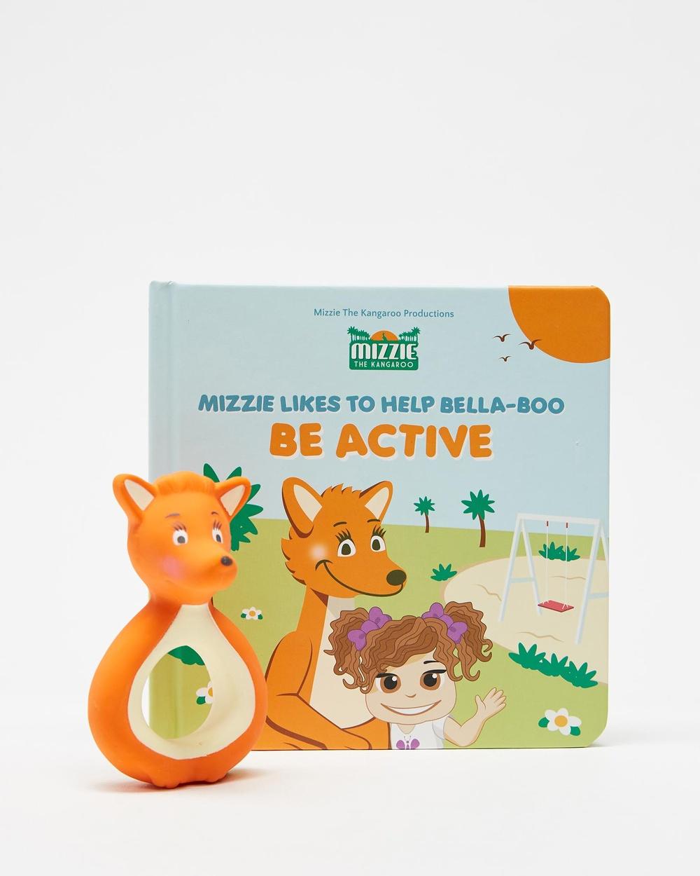 Mizzie The Kangaroo Mini Reader Gift Set All toys Be Active All toys Australia