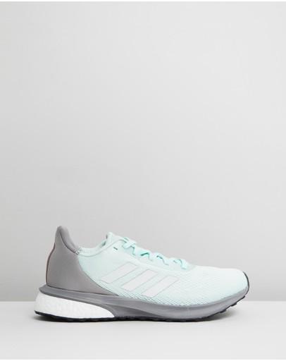 Adidas Performance Astrarun - Women's Running Shoes Dash Green Footwear White & Dove Grey