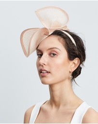Max Alexander - Sinamay Twist Racing Fascinator