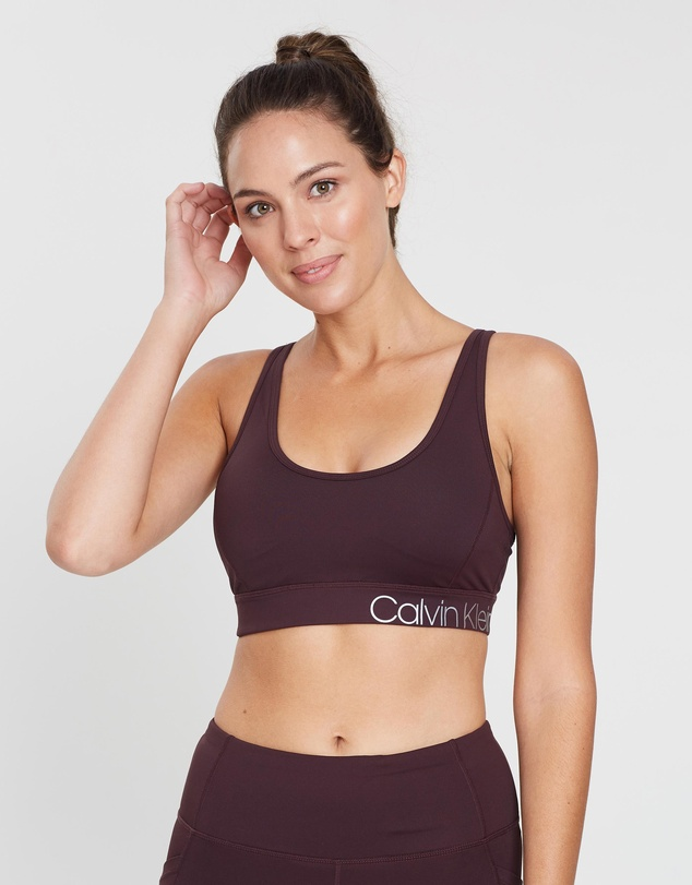 Calvin Klein Performance - Criss-Cross Elastic Sports Bra
