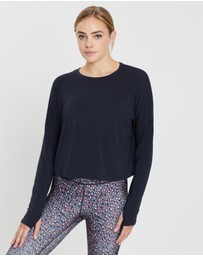 Nimble Activewear - Stop and Stretch LS Top