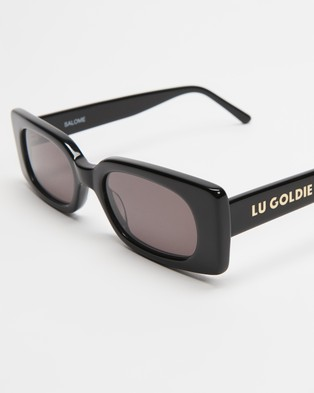 Lu Goldie Salom?? - Sunglasses (Black)