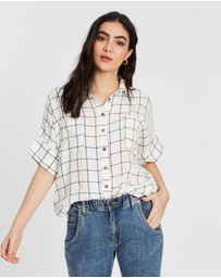 DRICOPER DENIM - Katka Linen Check Shirt