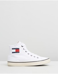 Tommy Hilfiger - High-Top Tommy Jeans Sneakers - Women's