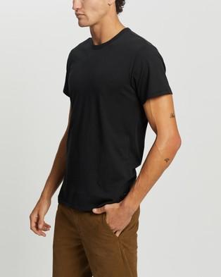 rag & bone Principle Base Tee - T-Shirts & Singlets (Black)