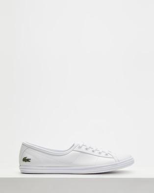 Lacoste Ziane BL 1 Women's Shoes White